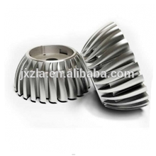 Custom anodized aluminum heat housing led