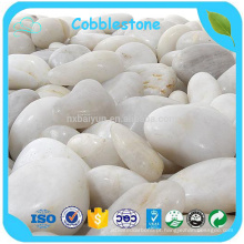 Pebble White Stone / Natural Rive Pebble Stone / White River Stone