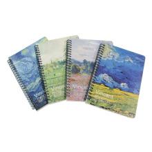 A5 Notebook Espiral Com 68 Folhas Internas
