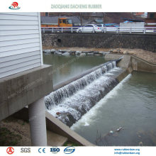 Widely Used Inflatable Rubber Dam for Spillway