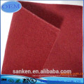 Needle punched nonwoven 100 polyester felt fabric