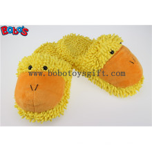 Lady Shoes Plush Stuffed fechado Teo chinelo interior em Cartoon Duck Head