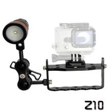 Archon Light Weight Z10 Contrôle à une main avec deux attaches à bille de 1 po pour équipement de plongée