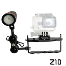 "Archon Light Weight Z10 One Hand Control with Two 1"" Ball Attachment for Diving Equipment"