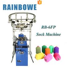Máquina que hace punto del calcetín chino de la pequeña computadora de RB para los calcetines coreanos del algodón para la venta