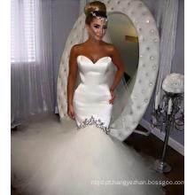 2017 Sexy Mermaid Wedding Dresses Lace Sweetheart Decote