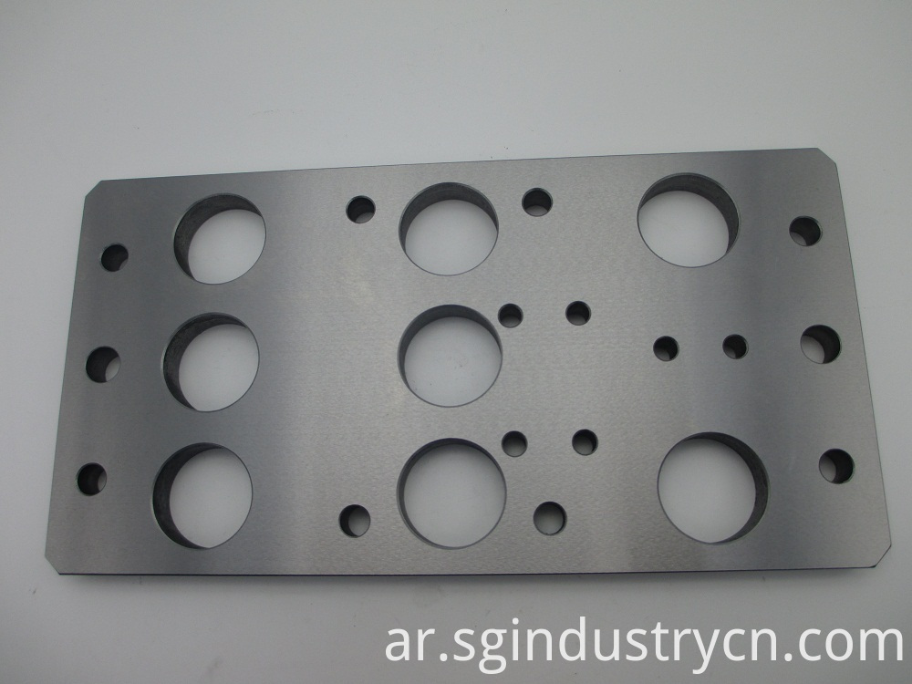 Metal Structure Cnc Aluminum Parts