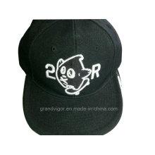 6 Paneles Snapback Hat con logotipo de bordado 3D