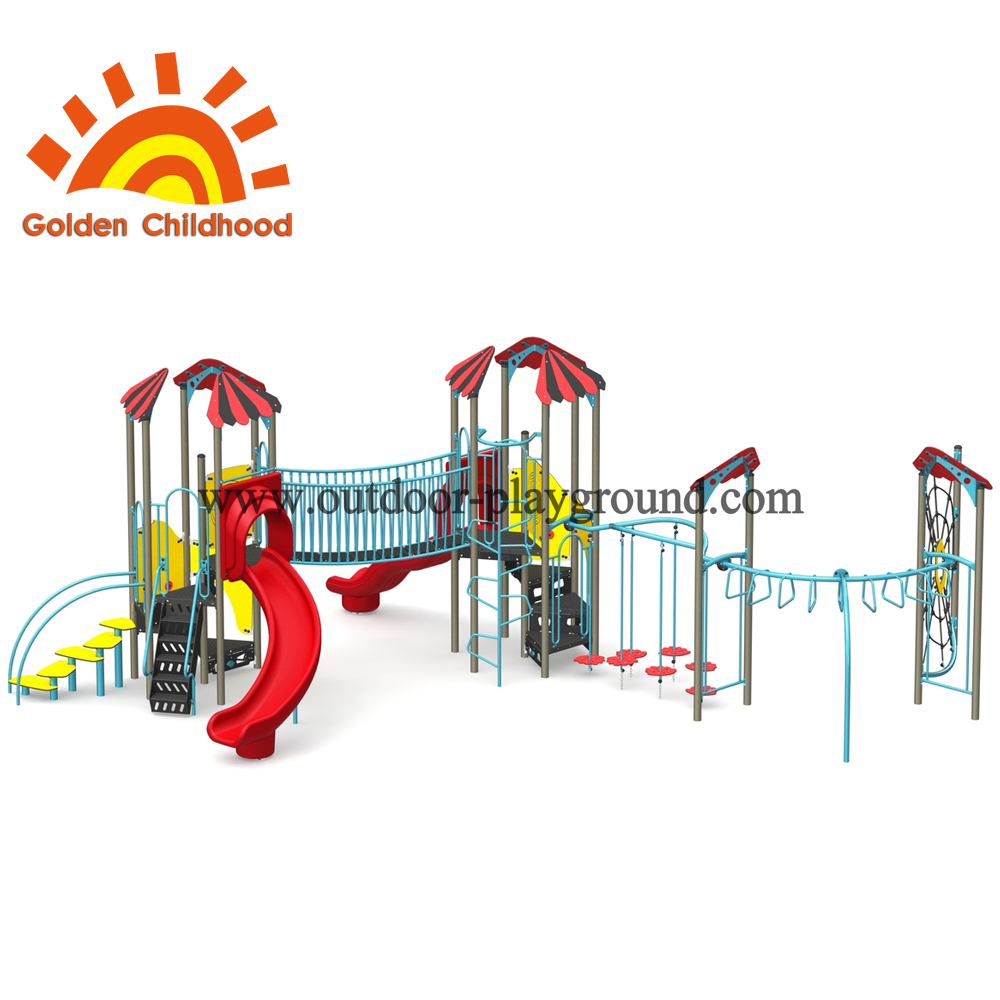Simple Slide With Slide And Tower For Children