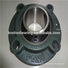 high quality flange type pillow block F208 bearings with housings made in China