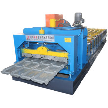 Auto control aluminum glazed tile roll forming machine