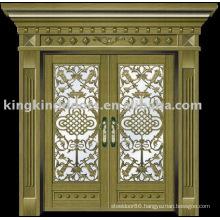 luxury copper door villa door exterior door KK-708
