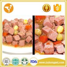 Premium lata de comida para cães trata para petiscos para animais de estimação