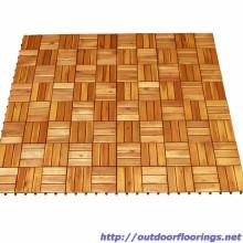 Tuiles de sol réalisées 300 x 300x 19 mm