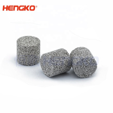 High Strength Easy To Clean SS Sintered Stainless Steel Porous Candle Filter Cartridge For Industry Filtration