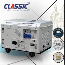 CLASSIC CHINA 10KW Démarrage électrique AC Monophasé à air comprimé Cylindre simple Portable Silent Diesel Generator 10KW