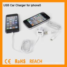 Adaptador Car Charger USB para el iPhone 5 WF-106