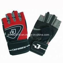 Gym Training Fitness Mitt Bicycle Body Building Cycling Leahter Weight Lifting Sports Glove-Jg10z006