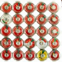 Zhejiang fabricante fornecedor mola medidor de pressão de nitrogênio 100 psi