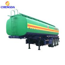 Nuevo remolque cisterna de combustible de acero al carbono