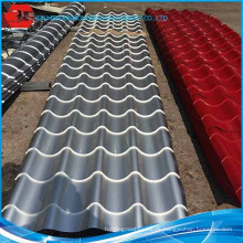 Niedriger Preis Gute Qualität PPGI Farbe beschichtete Stahlspule Aluminium Spule für Bedachung Blatt