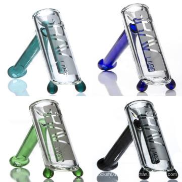Hammer style Bubbler pour fumer avec des accents colorés (ES-GB-066)