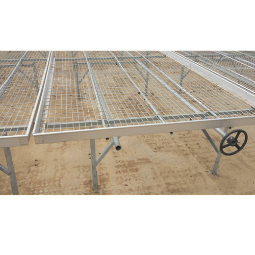 Skyplant Landwirtschaft Greenhouse Seed Rolling Bench Bed