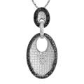 Unique Design Micro Setting 925 Sterling Silver Pendants Jewelry