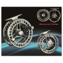 FLR001 100% sealed drag waterproof saltwater aluminium fly fishing reel