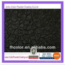 Schwarze Eis schwere Textur Pulverbeschichtung