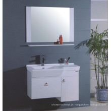 Vaidade do armário do banheiro do MDF ajustada (B-304)