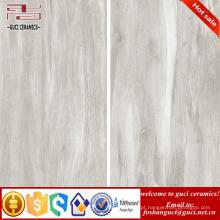 China materiais de construção cinza olhar como telhas de assoalho de madeira porcelanato