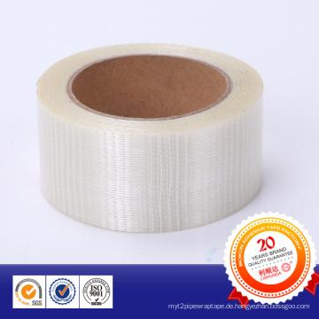Glasfaserverstärktes Band mit Straight Line und Grids