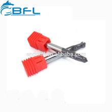 Сверла зерна карбида BFL ультра микро для сверля нержавеющей стали, бурового наконечника CNC