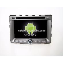 Mejor calidad superior de 7 pulgadas 2-din android coche gps navegador multimedia para Ssangyong Rodius