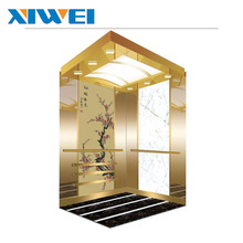 Safety gearless residential villa home passenger elevator without machine room