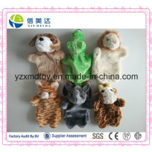 Hot Selling Interactive Kids Toy Plush Animal Hand Puppet