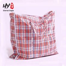 Очень большой PP сплетенный мешок застежки-молнии багажа