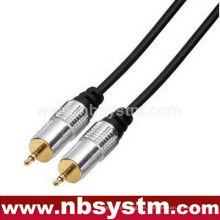 Montagetyp 3,5 mm Stereo Stecker auf 3,5 mm Stereo Stecker
