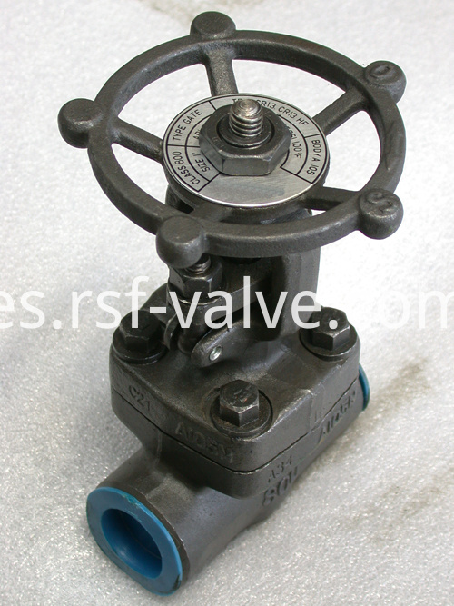 Api 602 Forged Steel Gate Valve 1