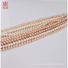 5-6mm Fresh Water Pearl Strands, Round