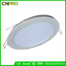 Lámpara redonda del panel de Cnpro 15W LED con la aprobación de Rohs / Ce