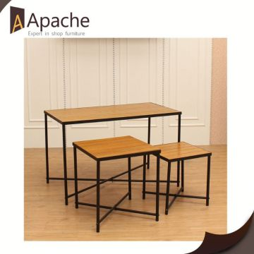 Professional manufacture factory directly retail clothes display table