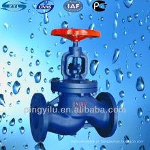 Válvula de globo de ferro fundido para tubo de pvc J41T-16 fabricante