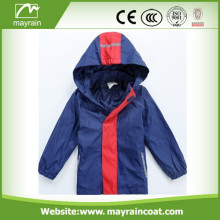 New Fashion PU Kids Rain Coat