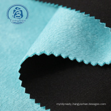 Hot Sale Polyester jersey fabric bonded Polar Fleece Fabric for cloth