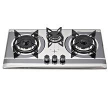 3 hornillas construidas en estufa de gas / cocina de gas / cocina de gas