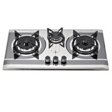 Cuisinière à gaz à 3 brûleurs / cuisinière à gaz / cuisinière à gaz