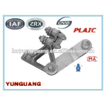 Electrical Aluminium alloy strain clamp power wire clip electric line hardware fitting low voltage fitting overhead line fitting