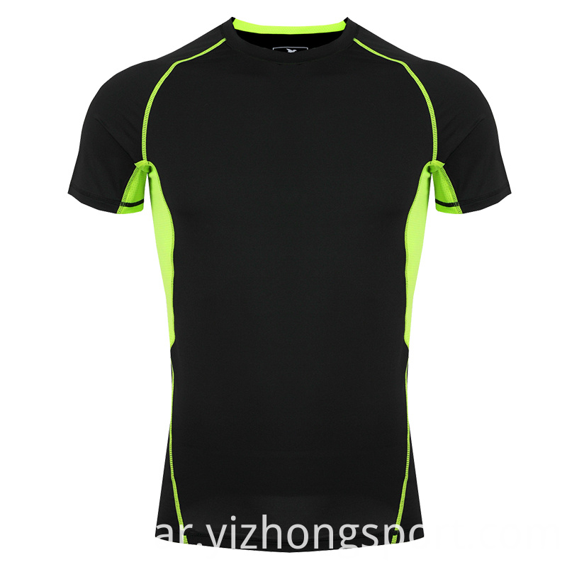 Mens Fitness T Shirt Polyester